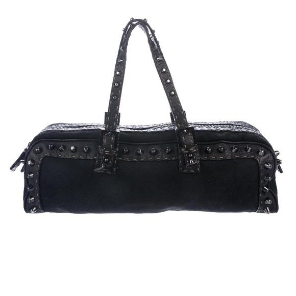 Fendi Handbags - Fendi Black Handle Bag